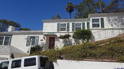 Glendale Single Family Home For Sale: 1601 Puebla Drive