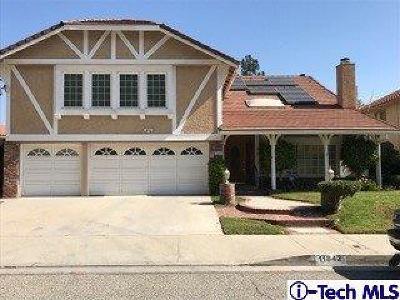 Northridge Single Family Home For Sale: 11842 Eddleston Drive