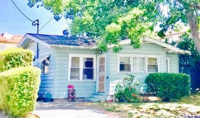 Glendale Single Family Home For Sale: 515 East Garfield Avenue
