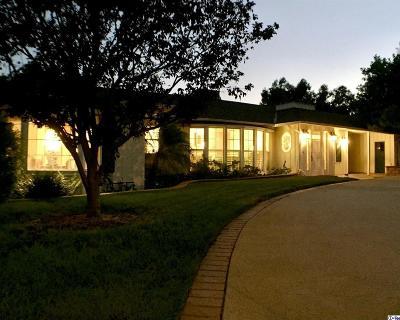 La Canada Flintridge Single Family Home For Sale: 1040 Vista Del Valle Road
