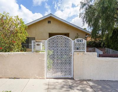 Santa Monica Single Family Home For Sale: 1247 25th Street