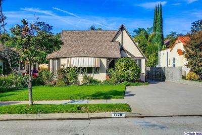 Glendale Single Family Home For Sale: 1129 Viscano Drive