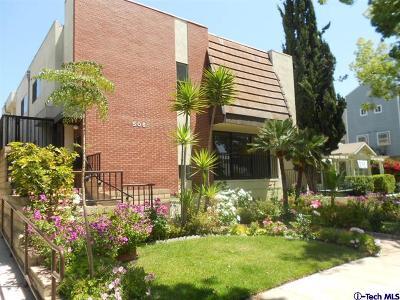 Glendale Rental For Rent: 506 North Kenwood Street #1