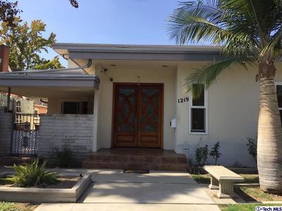 Glendale Rental For Rent: 1219 Viola Avenue