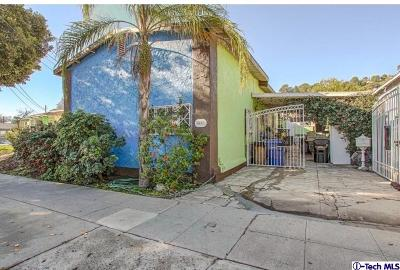 Los Angeles Single Family Home For Sale: 4409 Verdugo Road