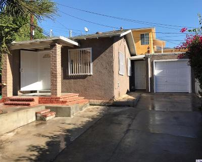 Burbank Single Family Home For Sale: 816 South 5th Street