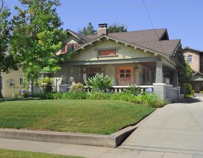 Pasadena Single Family Home For Sale: 651 South Mentor Avenue