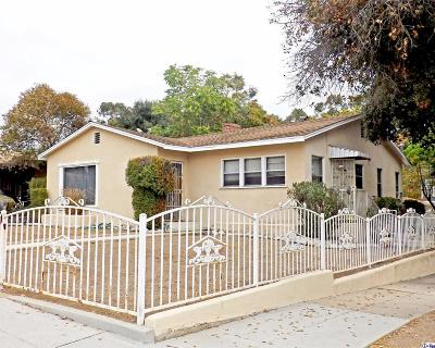 Pasadena Single Family Home For Sale: 1114 Lincoln Avenue