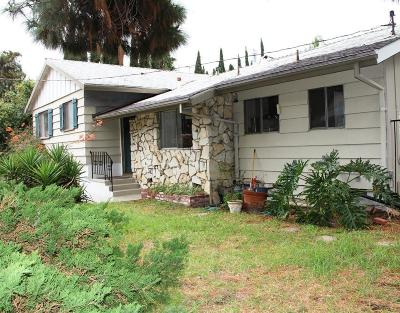 Burbank Single Family Home For Sale: 436 University Avenue