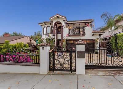 Los Angeles County Single Family Home For Sale: 8960 Wonderland Avenue
