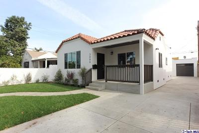 Los Angeles Single Family Home For Sale: 3006 South Victoria Avenue
