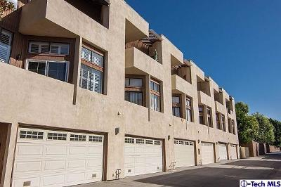 Glendale Condo/Townhouse For Sale: 1114 Melrose Avenue #4