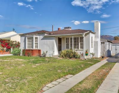Burbank Single Family Home For Sale: 740 North Lincoln Street