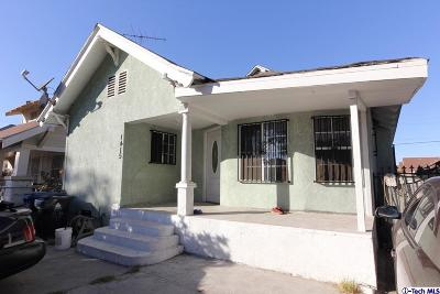 Los Angeles Single Family Home For Sale: 1415 Roland Curtis Place