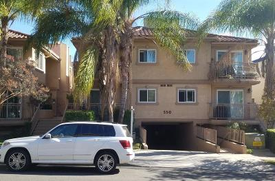 Burbank Condo/Townhouse For Sale: 550 East Santa Anita Avenue #105