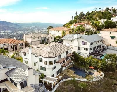 Glendale Single Family Home For Sale: 2101 Rimcrest Drive