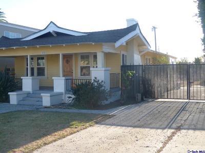 Glendale Rental For Rent: 1909 Gardena Avenue