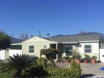 Monrovia Single Family Home For Sale: 427 East Altern Street