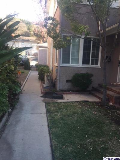 Glendale Rental For Rent: 752 North Verdugo Road