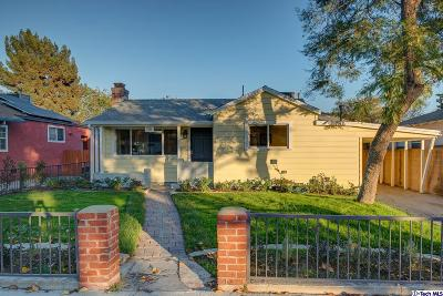 Burbank Single Family Home For Sale: 1730 North California Street