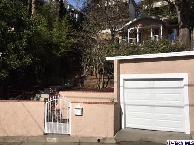 Los Angeles Single Family Home For Sale: 700 Sunnyhill Dr. Drive