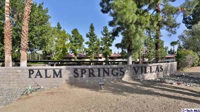 Palm Springs Condo/Townhouse For Sale: 2825 North Los Felices Road #113