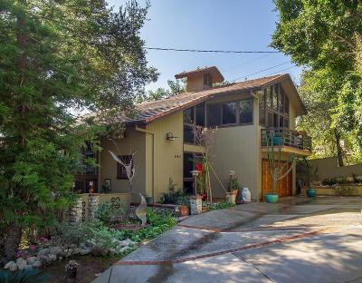 Sierra Madre Single Family Home For Sale: 684 Orange Drive