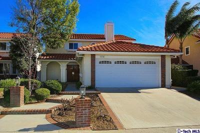 Northridge Single Family Home For Sale: 12144 Crystal Ridge Way