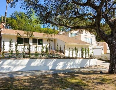 Glendale Single Family Home For Sale: 3132 North Verdugo Road