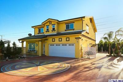 Sylmar Single Family Home For Sale: 12547 Hunnewell Avenue
