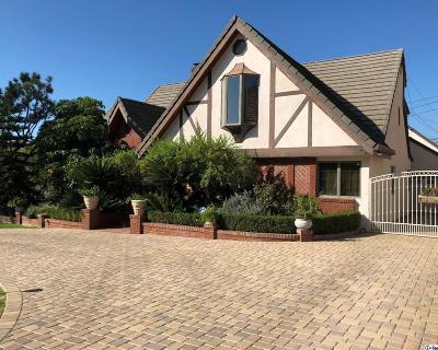 Glendale Single Family Home For Sale: 1521 Virginia Avenue