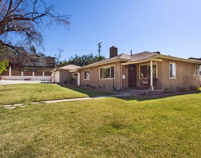 Burbank Single Family Home For Sale: 7774 Shadyspring Drive