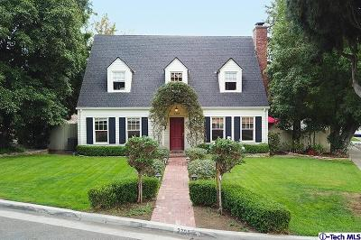 Glendale Single Family Home For Sale: 2300 Blanchard Drive
