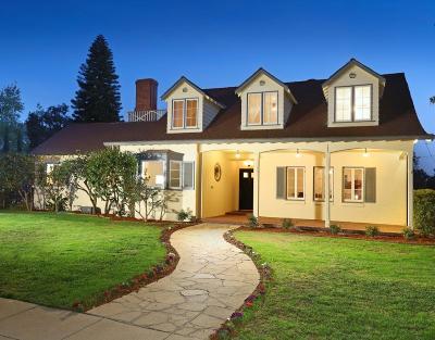 Glendale Single Family Home For Sale: 1734 Hillside Drive