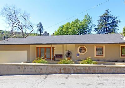 Pasadena Single Family Home For Sale: 1483 Arroyo View Drive