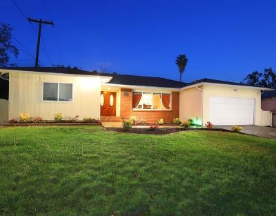 Glendale Single Family Home For Sale: 1539 Glenwood Road