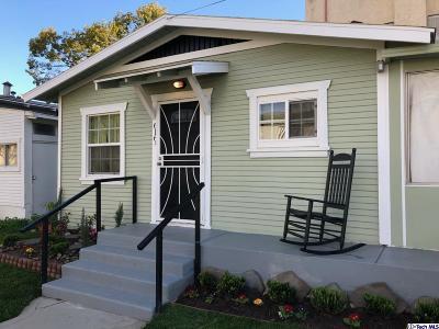 Burbank Single Family Home For Sale: 616 East Angeleno Avenue
