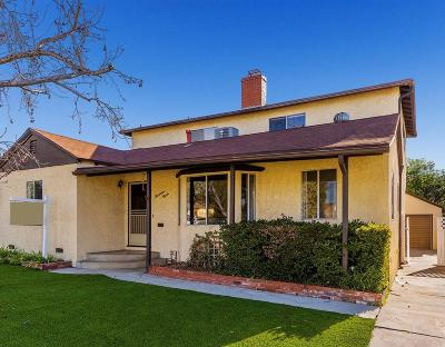 Burbank Single Family Home For Sale: 1720 North California Street