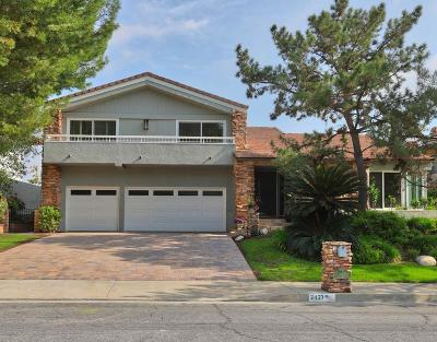 Glendale Single Family Home For Sale: 2427 Flintridge Drive