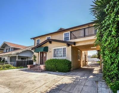 Single Family Home For Sale: 1236 Crenshaw Boulevard