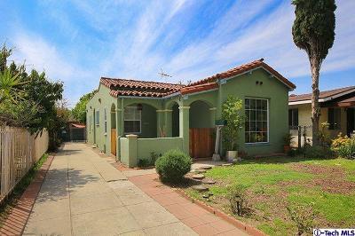 Los Angeles Single Family Home For Sale: 3908 Boyce Avenue