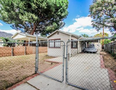 Sunland Single Family Home For Sale: 10822 Parr Avenue