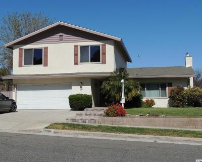 Saugus Single Family Home For Sale: 27238 Garza Drive