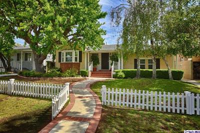 Burbank Single Family Home For Sale: 610 South Kenneth Road