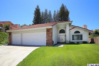 Saugus Single Family Home For Sale: 21110 Elder Creek Drive