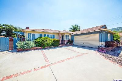 Sunland CA Single Family Home Sold: $670,000