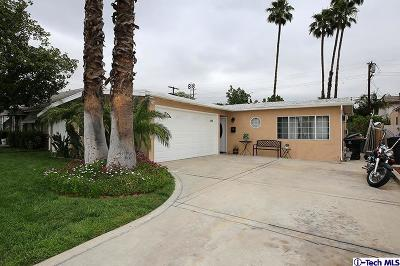 Burbank Single Family Home For Sale: 1318 North Beachwood Drive