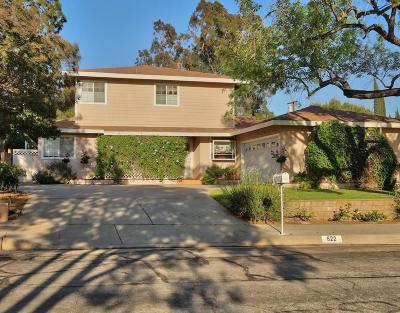 Monrovia Single Family Home For Sale: 622 Terrado Drive