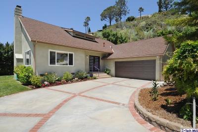 Glendale Single Family Home For Sale: 2050 Buckingham Place