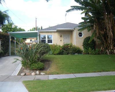 Burbank Single Family Home For Sale: 331 North California Street